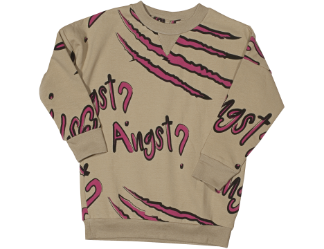 Little Man Happy ANGST Loose Sweater