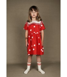Mini Rodini DOT Woven Sailor Dress Mini Rodini DOT Woven Sailor Dress red