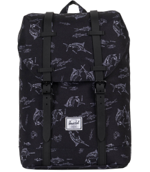 Herschel Retreat Backpack Youth Herschel Retreat Backpack Youth Black Saltwater
