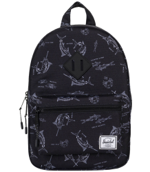 Herschel Heritage Backpack Kid Herschel Heritage Backpack Kid saltwater black