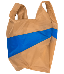 Susan Bijl  The New Shoppingbag Susan Bijl The New Shoppingbag Camel Blue