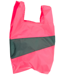 Susan Bijl  The New Shoppingbag Susan Bijl The New Shoppingbag Fluo Pink Pine
