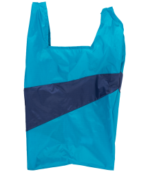 Susan Bijl  The New Shoppingbag Susan Bijl The New Shoppingbag aqua navy