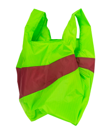 Susan Bijl  The New Shoppingbag Susan Bijl The New Shoppingbag Fluo green Hans