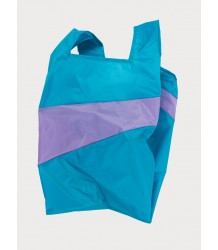 Susan Bijl  The New Shoppingbag Susan Bijl The New Shoppingbag Aqua Lilac