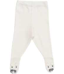 Stella McCartney Kids Snowflake Knitted Baby Trouser BUNNY Off-White Stella McCartney Kids Snowflake Tights cloud