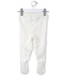 Stella McCartney Kids Snowflake Knitted Baby Trouser BUNNY Off-White Snowflake Gebreid Baby Broekje KONIJN Off-White