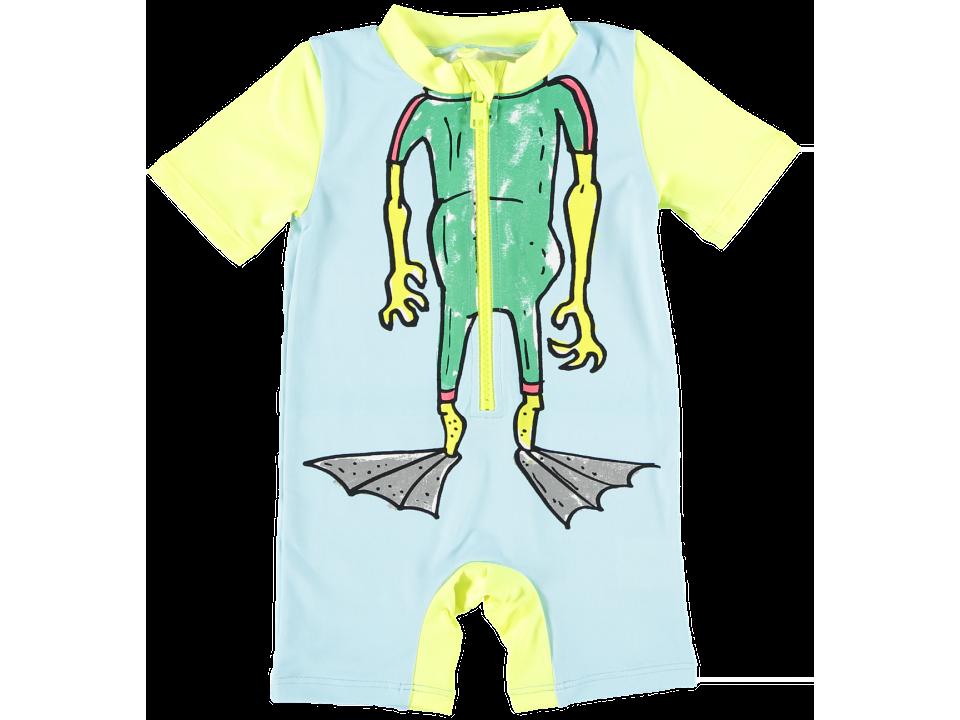 ed7782eb8d663 Stella McCartney Kids Sonny Baby Swimsuit BIG MUTANT - Orange May