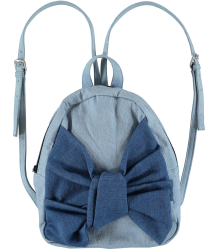 Stella McCartney Kids Blair BOW Denim Backpack Stella McCartney Kids Blair BOW Denim Backpack