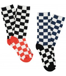 Stella McCartney Kids Patrick Socks CHECK 2-pack Stella McCartney Kids Patrick Socks CHECK 2-pack