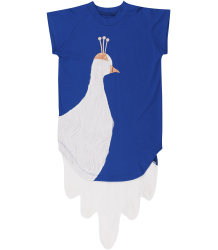 Wauw Capow Peacock White Dress BangBang CPH Peacock White Dress