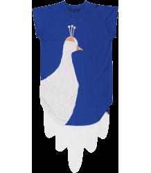 Wauw Capow Peacock White Dress BangBang CPH Peacock White Dress