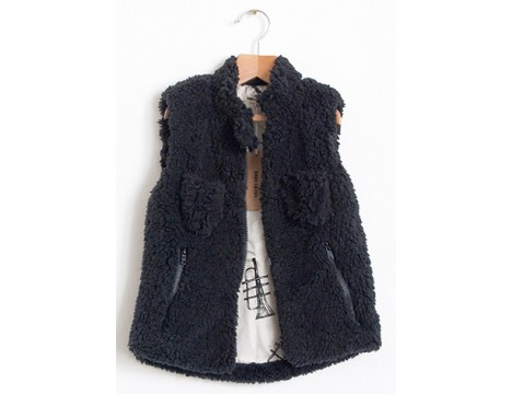 Bobo Choses Sleeveless Fleece Fur