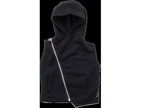 Nununu Hooded Diagonal Vest