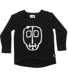 Nununu SKULL MASK Light Knitted Top Nununu SKULL MASK Patch Light Knit Top