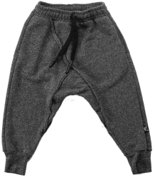Nununu Raw Sweatpants Nununu Raw Sweatpants charcoal melange