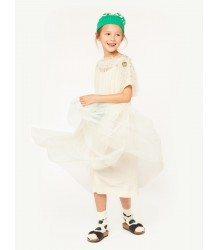 The Animals Observatory Dolphin Kids Dress LACE The Animals Observatory Dolphin Kids Dress LACE