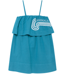 The Animals Observatory Dove Kids Dress The Animals Observatory Dove Kids Dress