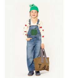 The Animals Observatory Miner Kids Overall Suit APPLE The Animals Observatory Miner Kids Overall Suit APPLE