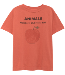 The Animals Observatory Rooster Kids T-shirt PEACH The Animals Observatory Rooster Kids T-shirt PEACH
