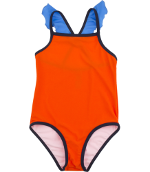 Tiny Cottons COLOUR BLOCK Frills Swim Suit Tiny Cottons COLOUR BLOCK Frills Swim Suit