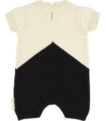 Tiny Cottons COLOR BLOCK Knit Baby Onepiece Tiny Cottons COLOR BLOCK Knit Baby Onepiece