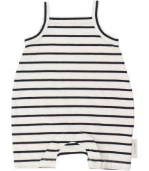 Tiny Cottons SMALL STRIPES SL Short Onepiece Tiny Cottons SMALL STRIPES SL Short Onepiece