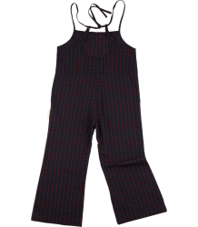 Tiny Cottons WV Long Onepiece GRID Tiny Cottons WV Long Onepiece GRID