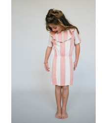 Repose AMS Collar Dress BLOCK STRIPE Repose AMS Collar Dress BLOCK STRIPE
