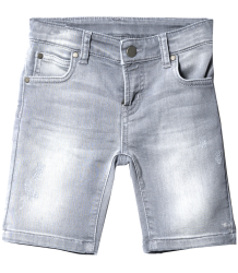 Someday Soon Carl Jogg Denim Shorts Someday Soon Carl Jogg Denim Shorts grey