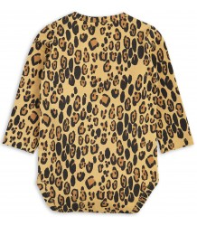 Mini Rodini Basic LEOPARD LS Body Mini Rodini LS Body LEOPARD