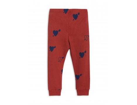 Mini Rodini HEART Rib Leggings