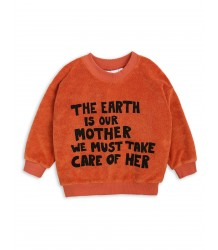 Mini Rodini MOTHER EARTH Terry Sweatshirt