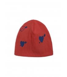 Mini Rodini HEART Rib Beanie