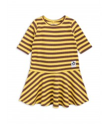 Mini Rodini STRIPE Rib Dance Dress