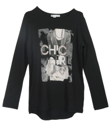 T-shirt Chic Patrizia Pepe Girls T-shirt Chic