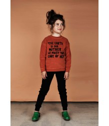 Mini Rodini MOTHER EARTH Terry Sweatshirt Mini Rodini MOTHER EARTH Terry Sweatshirt