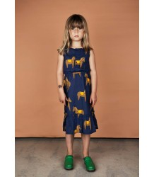 Mini Rodini HORSE Woven Flounce Dress Mini Rodini HORSE Woven Flounce Dress
