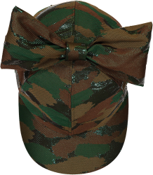 Caroline Bosmans Snow White Trash CAMOUFLAGE Cap with Bow Caroline Bosmans Snow White Trash CAMOUFLAGE Cap with Bow