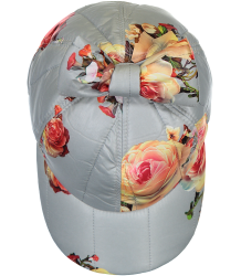 Caroline Bosmans Snow White Trash MAT FLOWER Cap with Bow Caroline Bosmans Snow White Trash MAT FLOWER Cap with Bow