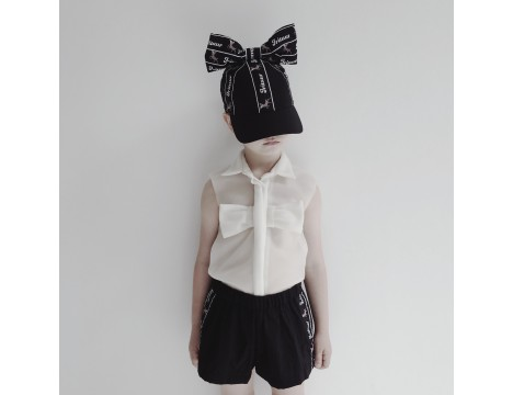 Caroline Bosmans Dee Licious Shirt with Bow