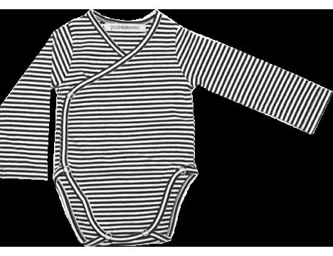 Mingo Wrap Bodysuit STRIPES