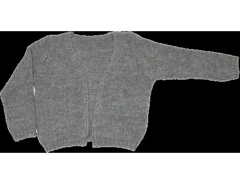 Mingo Knitted Cardigan grey Melange