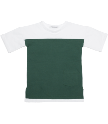 Mingo Bi-Color T-shirt Short Sleeve Mingo Bi-Color T-shirt Short Sleeve green white