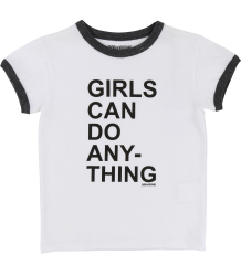 Zadig & Voltaire Kids Vintage SS Tee GIRLS CAN DO Zadig & Voltaire Kids Vintage SS Tee GIRLS CAN DO
