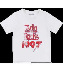 Zadig & Voltaire Kids Tee Boxer ZADIG ROCKS 1997 Zadig & Voltaire Kids Tee Boxer Tee SS ZADIG ROCKS 1997