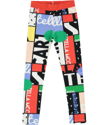 Stella McCartney Kids Tula Girl Legging CYCLING aop Stella McCartney Kids Tula Girl Legging CYCLING aop