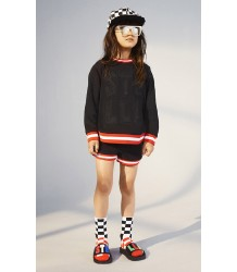 Stella McCartney Kids Daya Sweatshirt STELLA Stella McCartney Kids Delilah Short Striped Rib