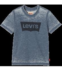 Levi's Kids SS Burny Tee Batwing LEVI'S  Levi's Kids SS Burny Tee Batwing LEVI'S poseidon blue