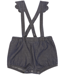 Emile et Ida Overall Combi-Short Chambray Emile et Ida Combi Short Chambray